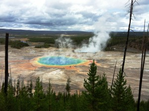 Grand Prismatic Springs